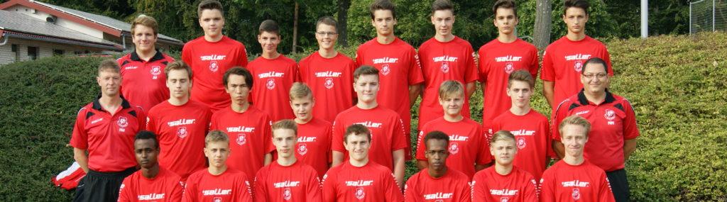 Mannschaftsfoto U17 Saison 2016_2017