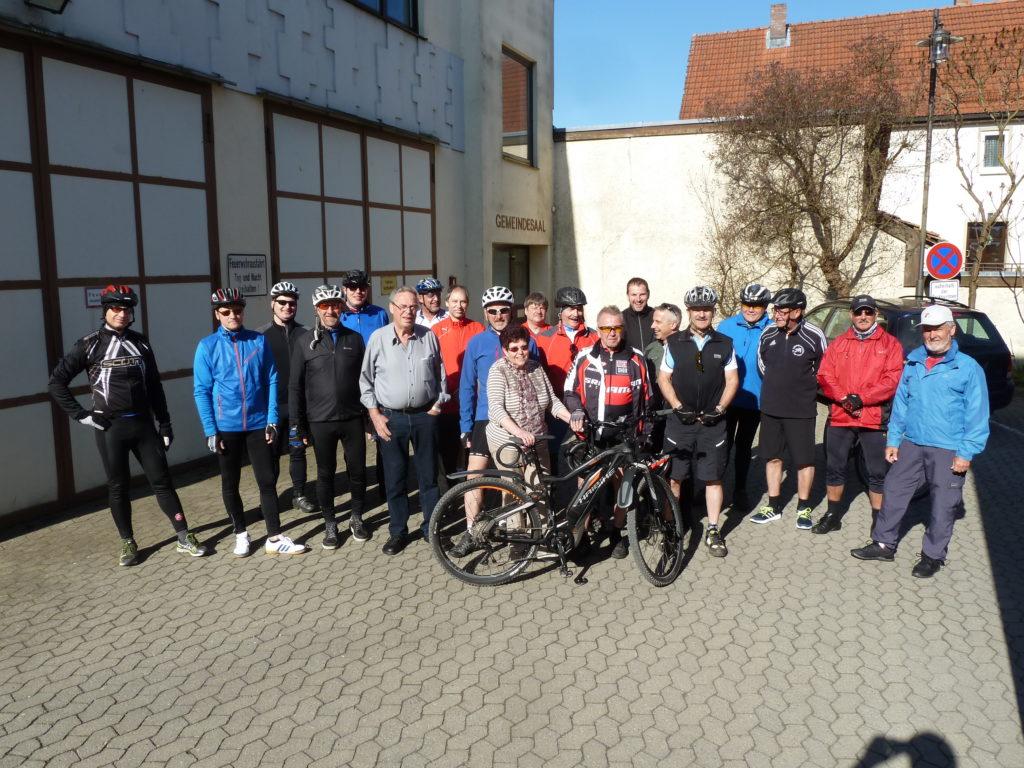 Jubiläums- Fahrradtour der AH