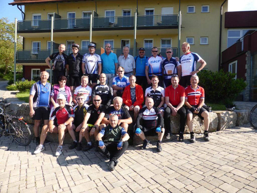 Fahrradtour der AH-Abteilung am Vatertag